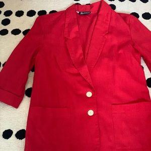 Vintage style blazer